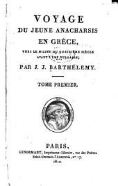 Voyage du jeune Anacharsis en Grèce: Volume1