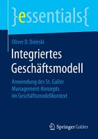 Integriertes Gesch  ftsmodell PDF