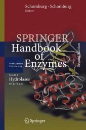 Class 3 Hydrolases: EC 3.1-3.4.21, Edition 2
