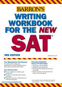 Writing Workbook For The New Sat Book PDF