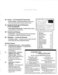 The American Philatelist PDF
