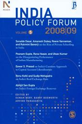 India Policy Forum 2008-09