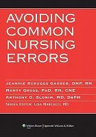 Avoiding Common Nursing Errors PDF
