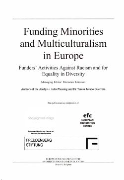 Funding Minorities and Multiculturalism in Europe PDF