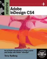 Exploring Adobe InDesign CS4 PDF