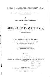 Final Report Ordered by Legislature, 1891: Volume 1