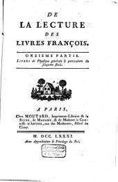 Mélanges tirés d'une grande bibliothèque: Volume28