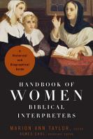 Handbook of Women Biblical Interpreters PDF