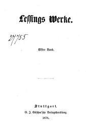 Lessings Werke: Elfter Band