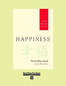 Happiness  EasyRead Super Large 18pt Edition  Book