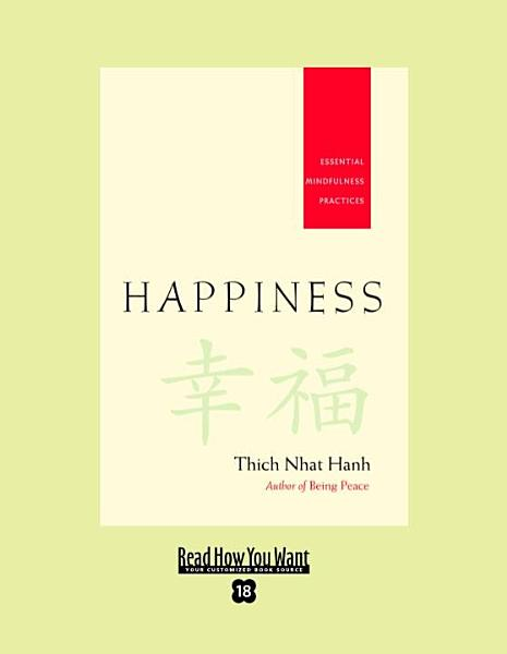 Happiness (EasyRead Super Large 18pt Edition)