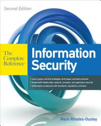 Information Security The Complete Reference  Second Edition