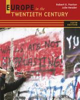 Europe in the Twentieth Century PDF