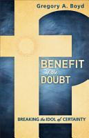 Benefit of the Doubt PDF