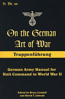 On the German Art of War