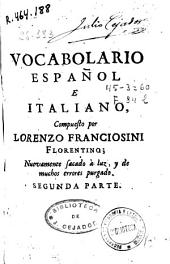 Vocabulario español e italiano: Volume 2