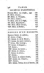 Songes d'un Hermite