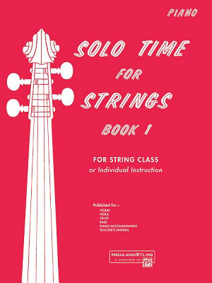 Solo Time for Strings  Book 1 PDF