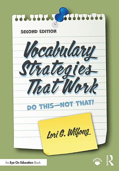 Vocabulary Strategies That Work