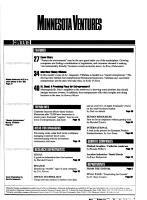 Minnesota Ventures PDF
