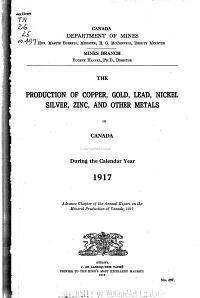 Mines Branch Monograph PDF