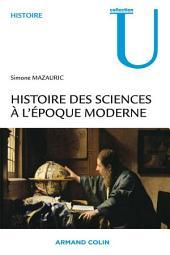 Histoire des sciences à l'époque moderne