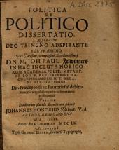 Politica De Politico Dissertatio
