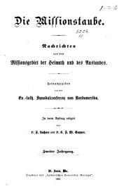 Missions-Taube: Volume 2