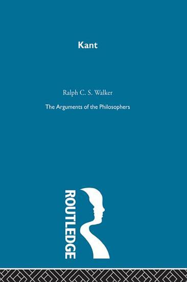 Kant Arg Philosophers PDF