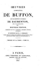 Oeuvres complètes de Buffon: avec les descriptions anatomiques de Daubenton, son collaborateur, Volume9,Partie9