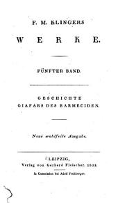 F.M. Klingers werke ...