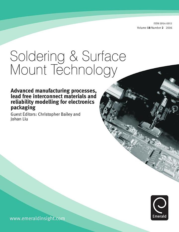 Advanced Manufacturing Process, Lead Free Interconnect Materials and Reliability Modeling for Electronics Packaging