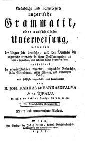 Gründliche und neuverbesserte ungarische Grammatik