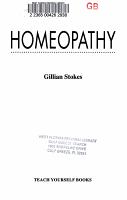 Homeopathy PDF