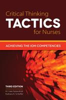 Critical Thinking TACTICS for Nurses PDF