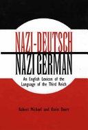 Nazi-Deutsch/Nazi-German