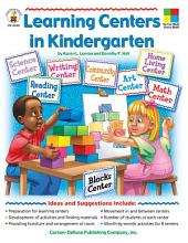 Learning Centers in Kindergarten, Grade K