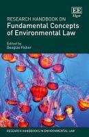 Research Handbook on Fundamental Concepts of Environmental Law PDF