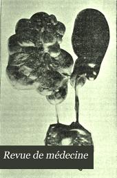 Revue de médecine: Volume23