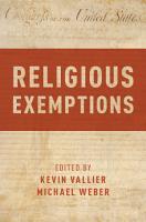 Religious Exemptions PDF