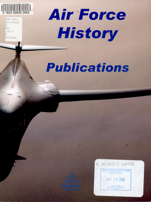 Air Force history publications