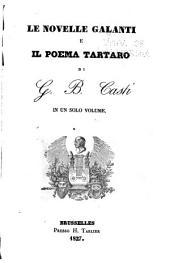 Le novelle galanti e il poema Tartaro