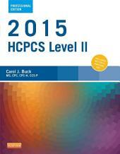 2015 HCPCS Level II Professional Edition