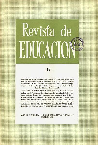 Revista De Educacion No 117