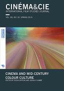 Cinma&cie, International Film Studies Journal, Spring 2019