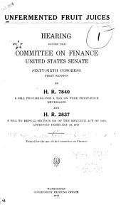 Magnesite: Hearings Before the Committee on Finance, United States Senate, Sixty-Sixth Congress, Second Session, on H.R. 5218, a Bill to Provide Revenue for the Government and to Establish and Maintain the Production of Magnesite Ores and the Manufacture Thereof in the United States ...