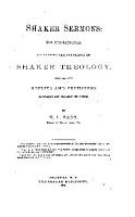 Shaker Sermons PDF
