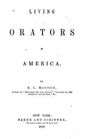 Living Orators in America