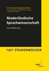 Niederl  ndische Sprachwissenschaft PDF