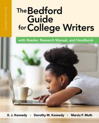 The Bedford Guide For College Writers With Reader Research Manual And Handbook PDF